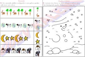 1. Sinif Matematik Dersi Oruntuler - Sayilari Birlestir