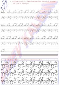 1. Sinif Matematik Dersi Sayilari Ogreniyorum - 20