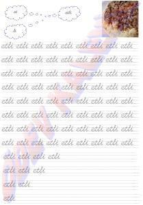 etli 2. Grup Sesler Harfler Kelimeler 1. Sinif Okuma Yazma Etkinlikleri