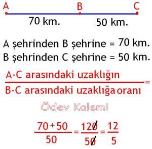 5. Sinif Matematik Dersi Cozumlu Oran Oranti Problemleri - 06