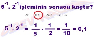8. Sinif Matematik Dersi Uslu Sayilarla islemler Cozumlu Problemler - 07