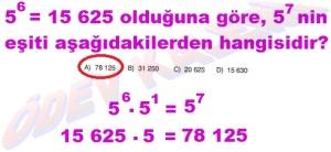 8. Sinif Matematik Dersi Uslu Sayilarla islemler Cozumlu Problemler - 09