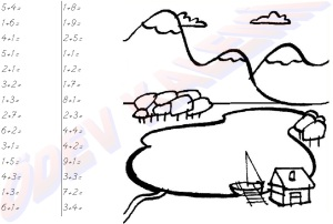 bir basamakli dogal sayi ile bir basamakli dogal sayilarla Toplama islemleri 1. sinif matematik dersi