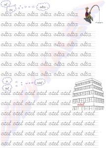 olta - otel Kelimeleri 2. Grup Sesler Harfler 1. Sinif Okuma Yazma Etkinlikleri