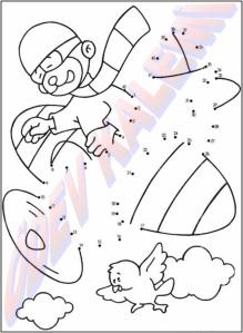 Sayilari Birlestir Boya 1. Sinif Sanatsal Etkinlikler Dersi - 13