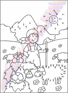 Sayilari Birlestir Boya 1. Sinif Sanatsal Etkinlikler Dersi - 14