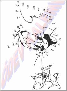 Sayilari Birlestir Boya 1. Sinif Sanatsal Etkinlikler Dersi - 15