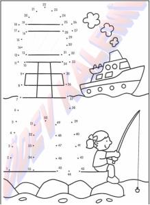 Sayilari Birlestir Boya 1. Sinif Sanatsal Etkinlikler Dersi - 23