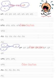 In - InI - nI, Ir - IrI - rI Heceleri 3. Grup Sesler 1. Sinif Turkce Dersi Okuma Yazma Etkinlikleri