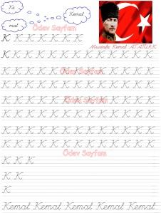 K Sesi Kemal 3. Grup Harfler 1. Sinif Turkce Dersi Okuma Yazma Etkinlikleri