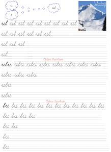 ul - ulu - lu Heceleri 3. Grup Sesler Harfler 1. Sinif Okuma Yazma Etkinlikleri