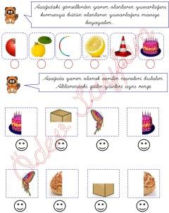 butun ve yarim kavramlari 1. sinif matematik dersi - 01