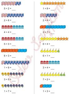 1. Sinif Matematik Dersi Toplam islemleri - 09