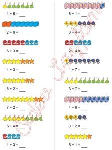 1. Sinif Matematik Dersi Toplam islemleri - 10