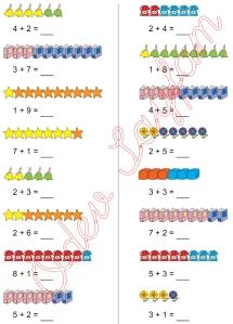 1. Sinif Matematik Dersi Toplam islemleri - 12