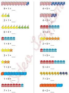1. Sinif Matematik Dersi Toplam islemleri - 13