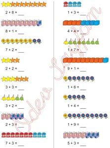 1. Sinif Matematik Dersi Toplam islemleri - 14