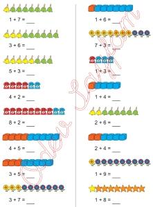 1. Sinif Matematik Dersi Toplam islemleri - 15