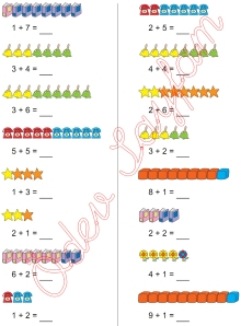 1. Sinif Matematik Dersi Toplam islemleri - 16