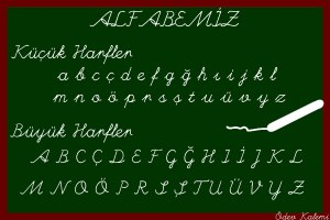 alfabe tahta