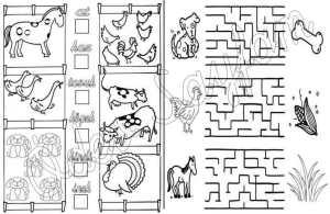 1-sinif-matematik-dersi-say-yaz-etkinligi-ciftlik-hayvanlari