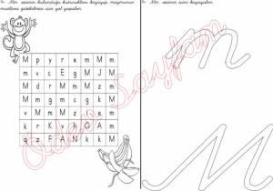 m-harfi-bulmaca-4-grup-sesler-1-sinif-okuma-yazma-ogreniyorum