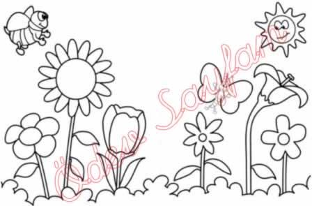 Görsel Sanatlar Dersi 1 Sinif Boyama çalişmasi ödev Sayfam