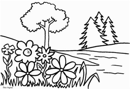 Görsel Sanatlar Dersi 1 Sinif Boyama ödev Sayfam
